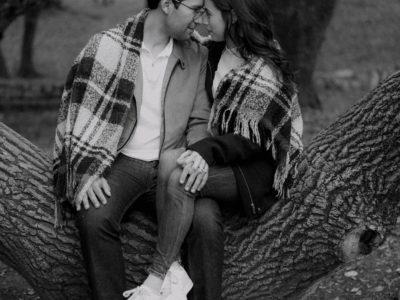 Michelle+Adrian Sesion PreBoda en Parque Hundido